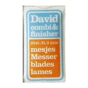 Lame di ricambio per Pialletto David Combi – 10 lame pack