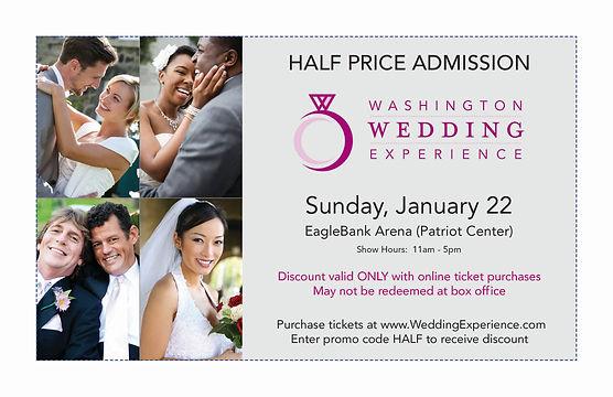 Washington Wedding Experience Promo Code
