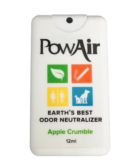 Désodorisant de poche PowAir Card Sprayer - Apple Crumble-12mL