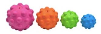 Balle Atomic avec squeezer ultrason