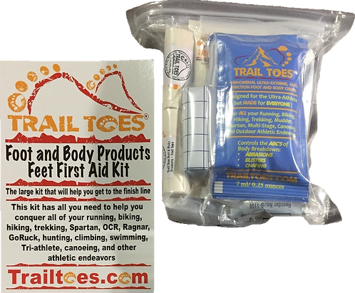 Large Feet First Aid Blister Kit