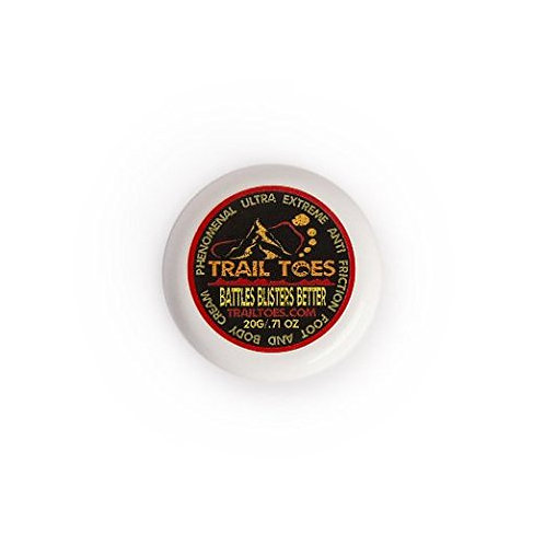 Trail Toes Foot and Body Cream 20 gram refillable jar