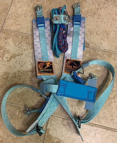Shoulder Strap with Rope, Bungee, and D-ring