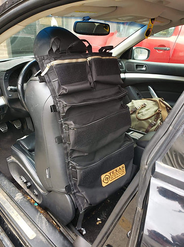 Big Texas Car Seat, Hanging and Roll Bag