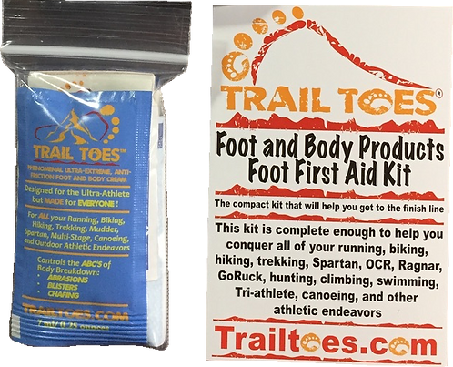 Small Foot First Aid Blister Kit