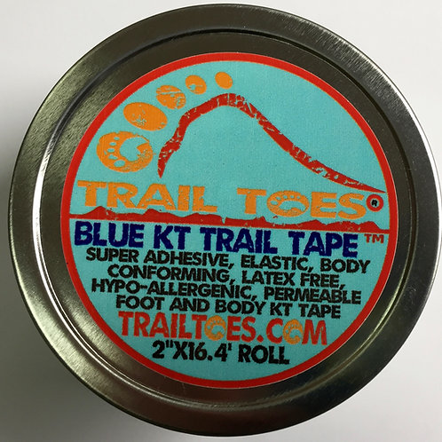 Trail Toes Blue KT Tape