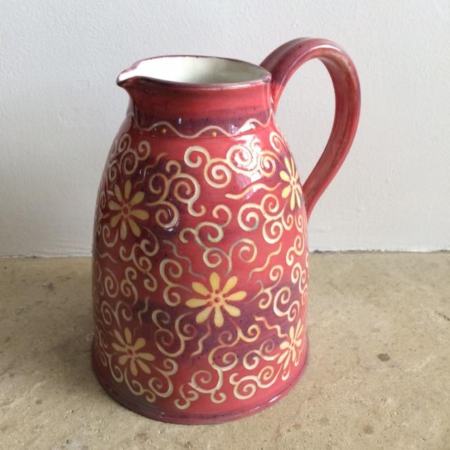 daisy red jug.JPG