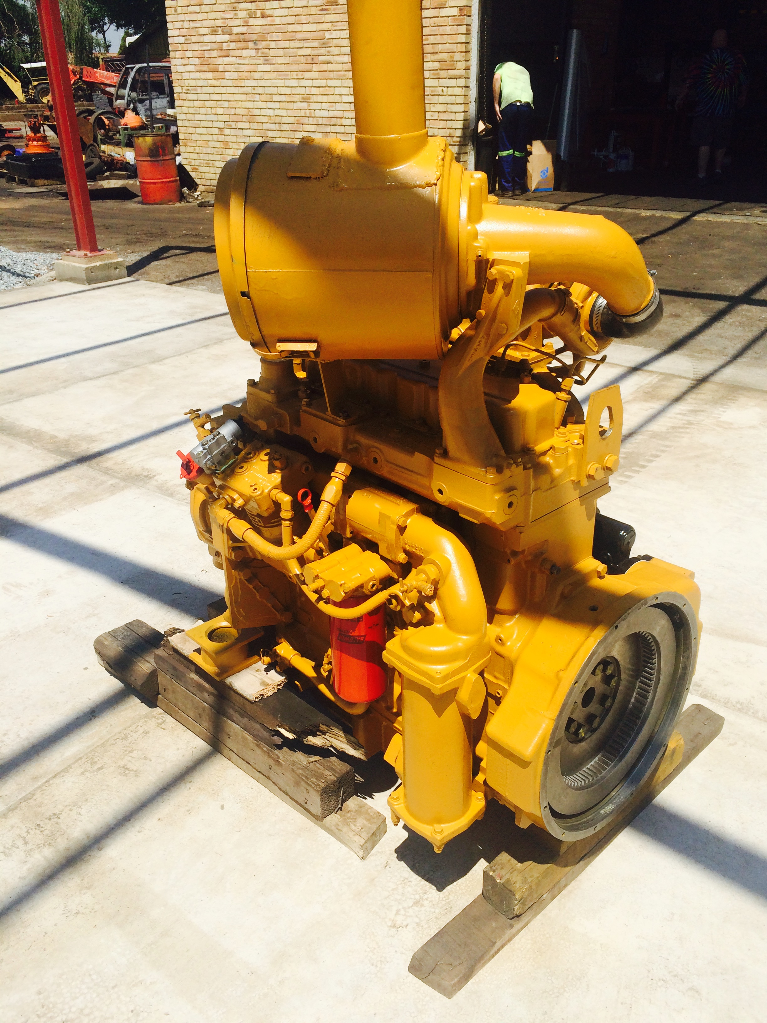CAT ENGINE REMAN