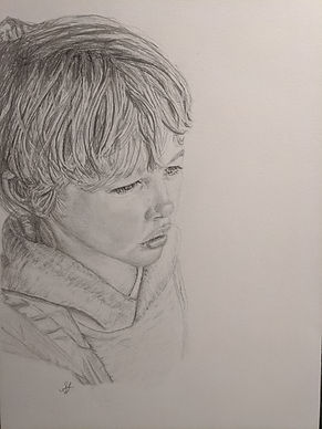 I am an artist who specialises in portraits.  My aim is to not only to capture the likeness, but also the real essence and character of the person.