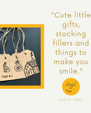 Inspired by a love for things that make you smile. Everything is handmade, somewhat quirky, and many creations are truly one-off items.