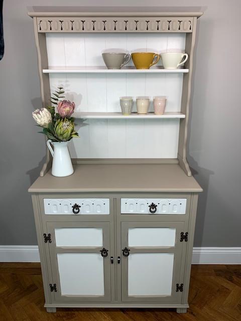Welsh dresser/coffee station