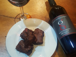 Easy Recipe for Red Wine Brownies