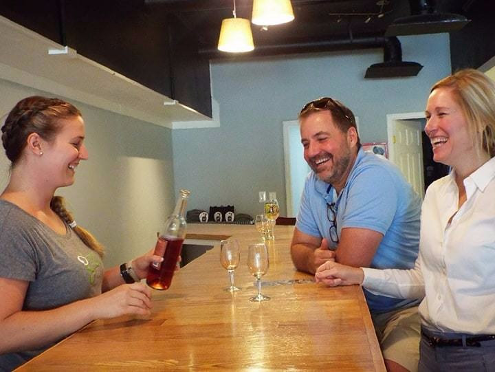 Create fun End of Summer Cocktails with Great Shoals Maryland Wine