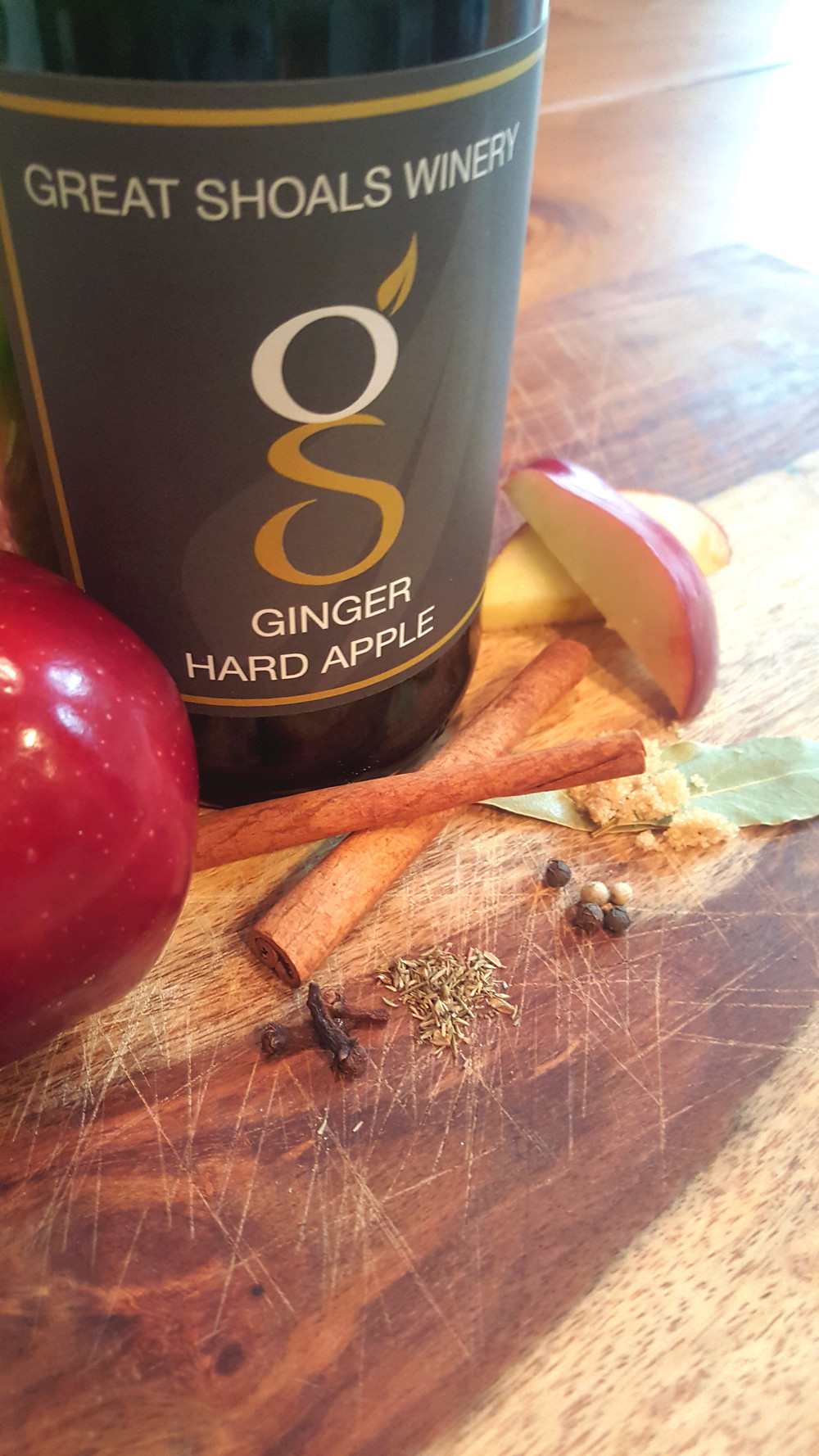 Ginger Apple Turkey Brine Ingredients