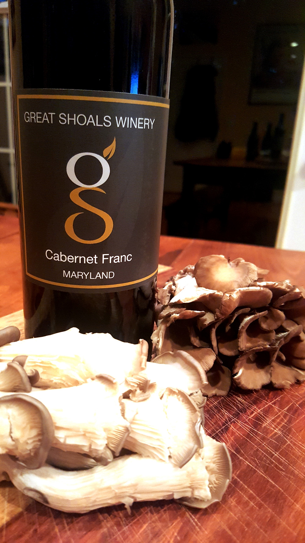 Cabernet Franc and Mushrooms