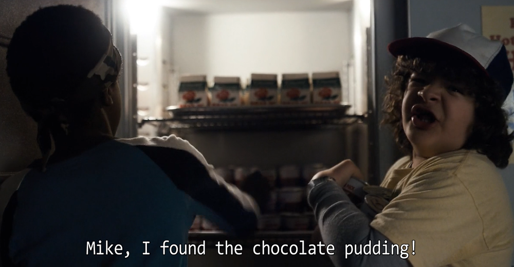 Stranger Things Chocolate Pudding and Wine Pairing