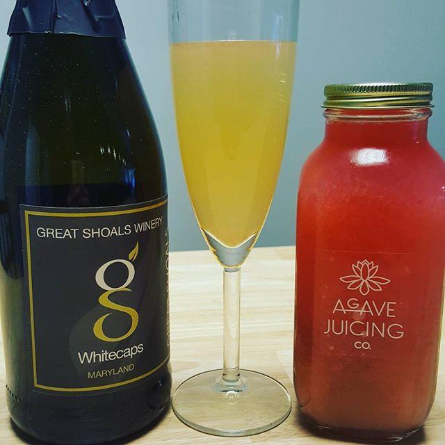 Sparkling Wine Mimosas