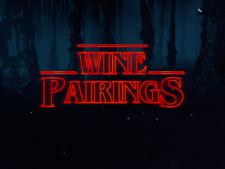 Strange Wine Pairings from Stranger Things