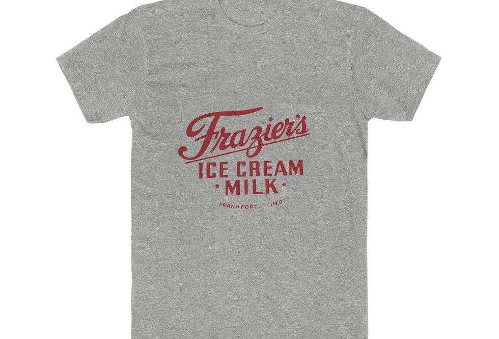 Frazier's Dairy Logo Cotton Crew Tee