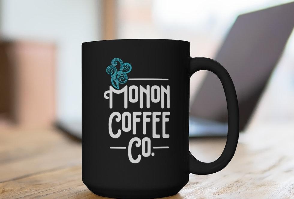 Monon Coffee Company Black Mug15oz