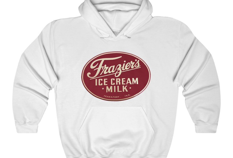 Frazier's Dairy Heavy Blend™ Hooded Sweatshirt (Check size chart!)