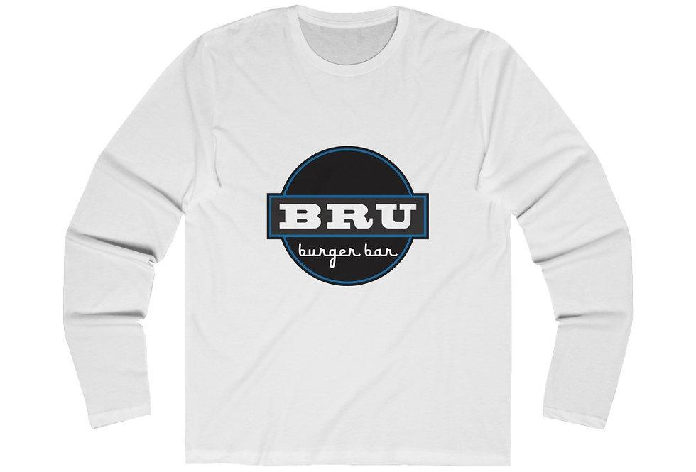 BRU Burger Bar Long Sleeve Crew Tee
