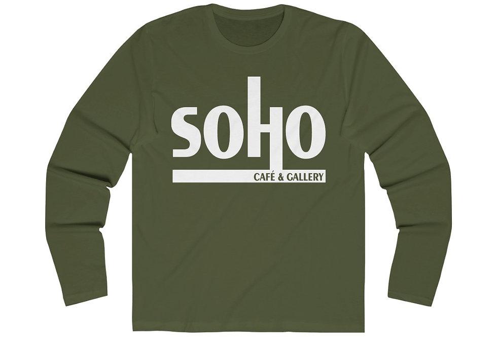 SoHo Cafe & Gallery Long Sleeve Crew Tee