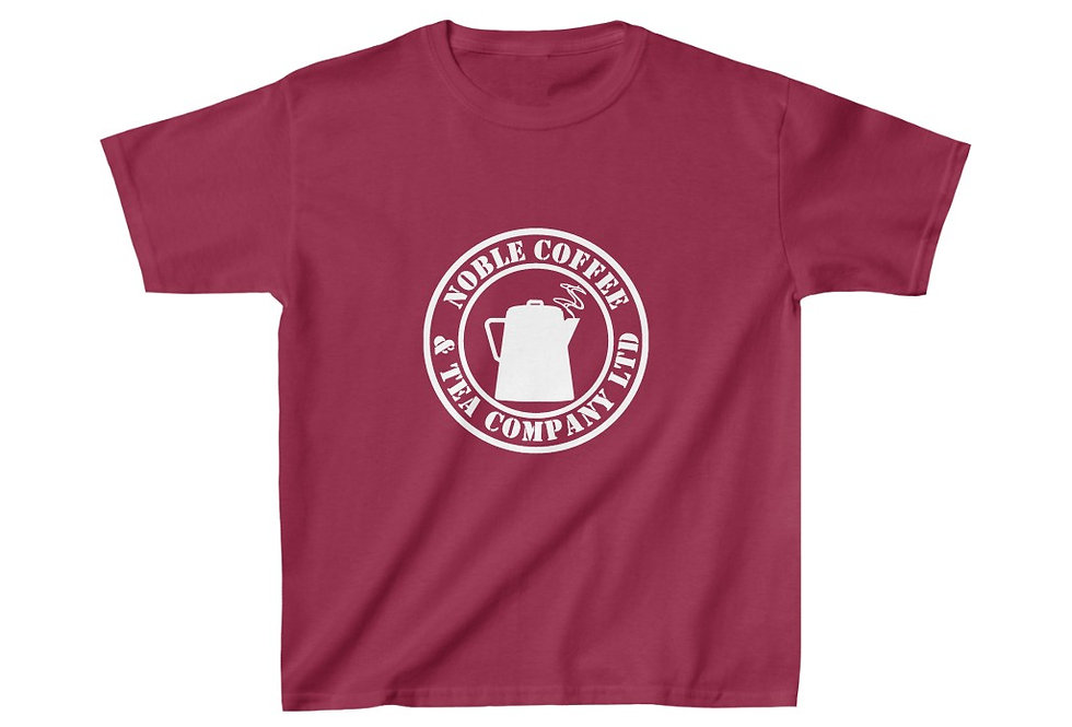 Noble Coffee & Tea Kids Heavy Cotton™ Tee