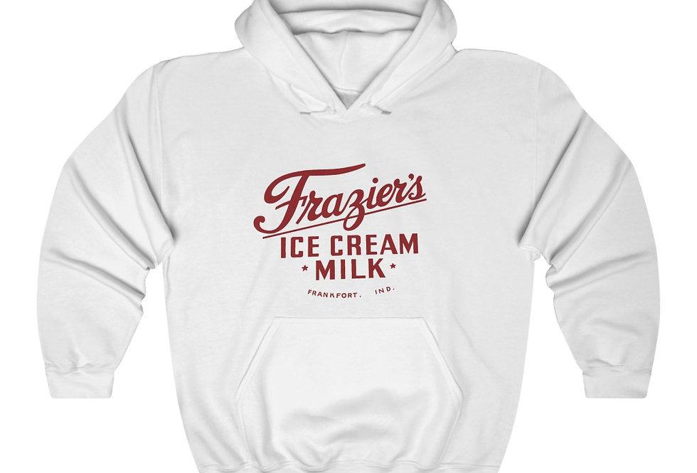 Frazier's Dairy Logo Heavy Blend™ Hooded Sweatshirt (Check size chart!)
