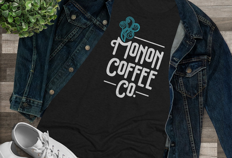Monon Coffee Co. Women's Triblend Tee (Sizes Run SMALL!)