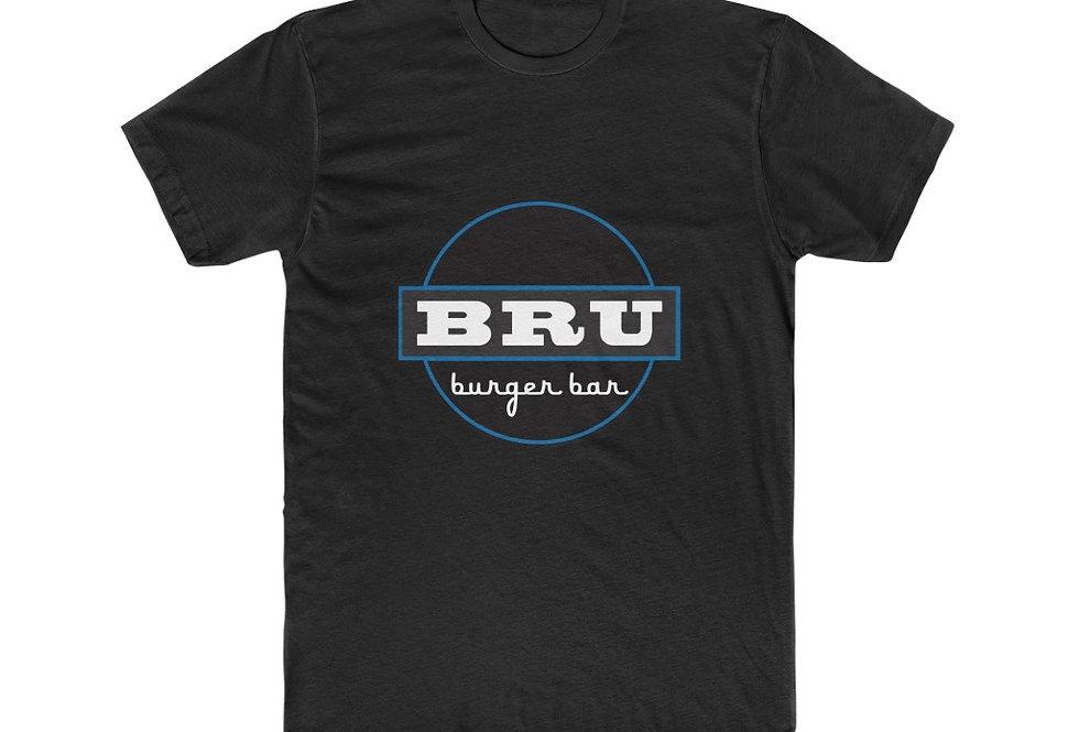 BRU Burger Bar Cotton Crew Tee