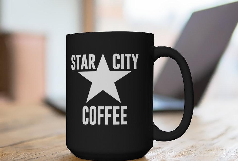 Star City Black Mug, 15oz