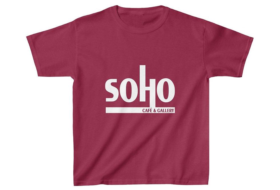 SoHo Cafe & Gallery Kids Heavy Cotton™ Tee