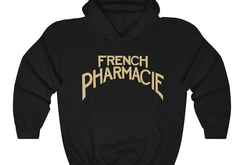 French Pharmacie Heavy Blend™ Hooded Sweatshirt (Check size chart!)