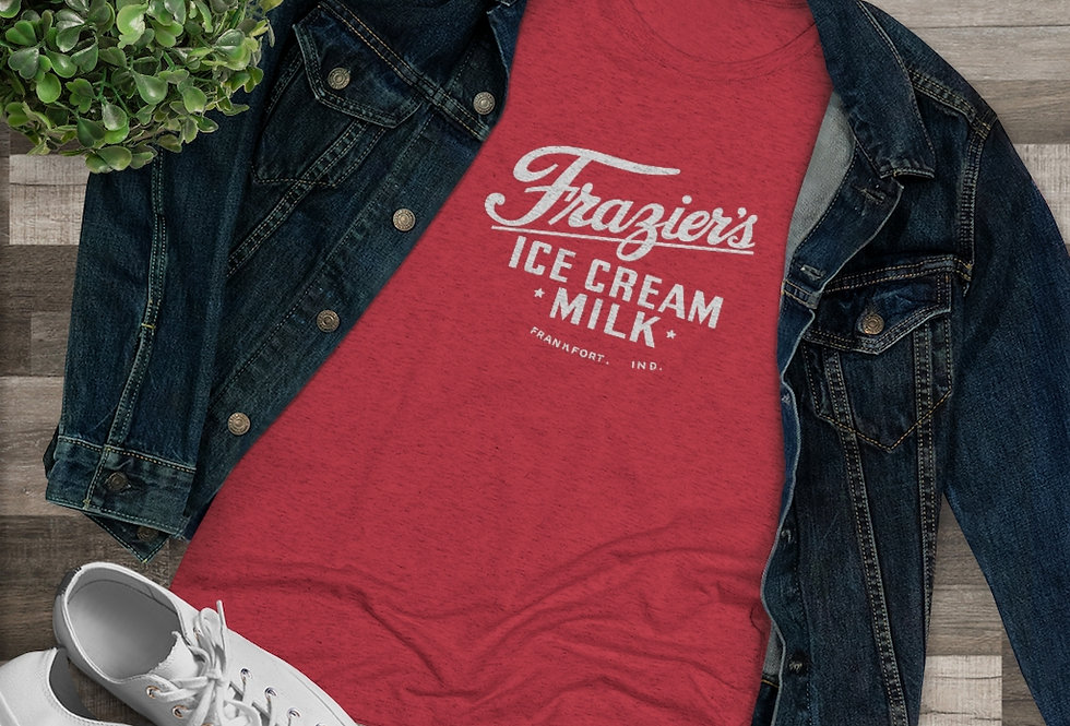 Frazier's Dairy Women's Triblend Tee (Sizes Run SMALL!)