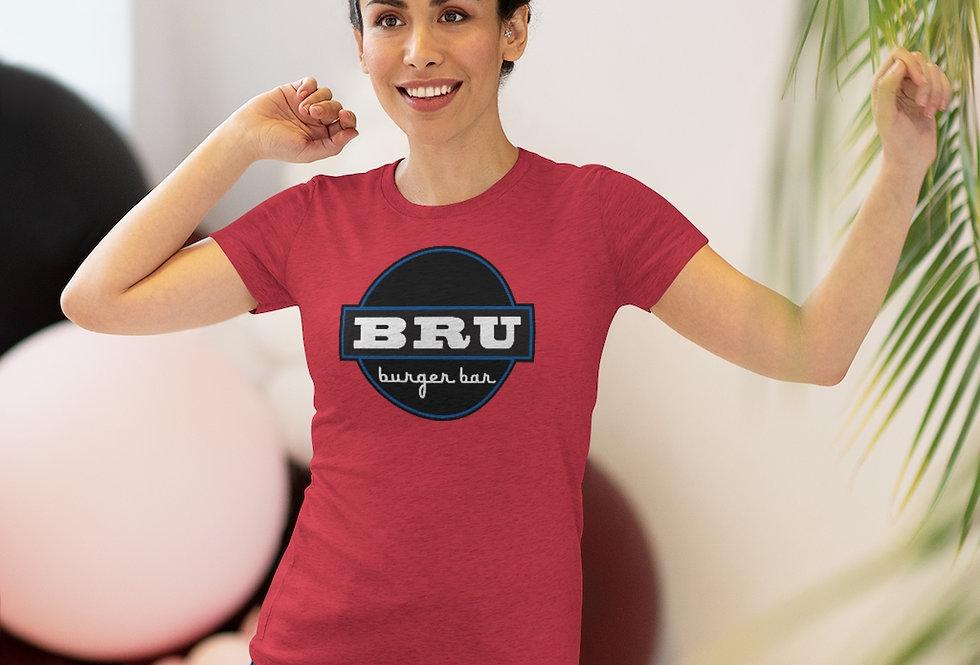 BRU Burger Bar Women's Triblend Tee (Sizes Run SMALL!)
