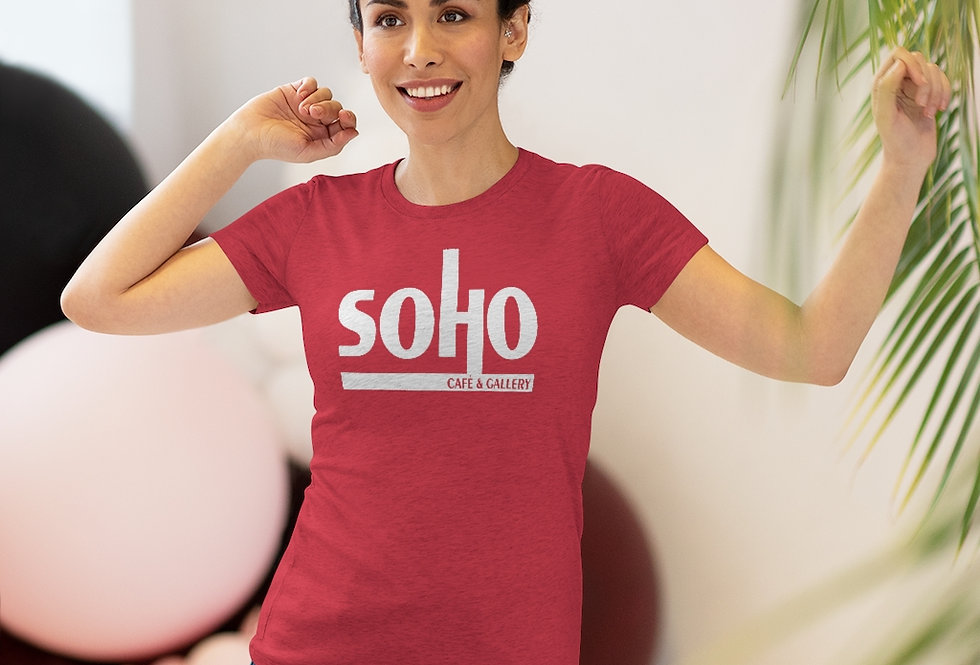 SoHo Cafe & Gallery Women's Triblend Tee (Sizes Run SMALL!)