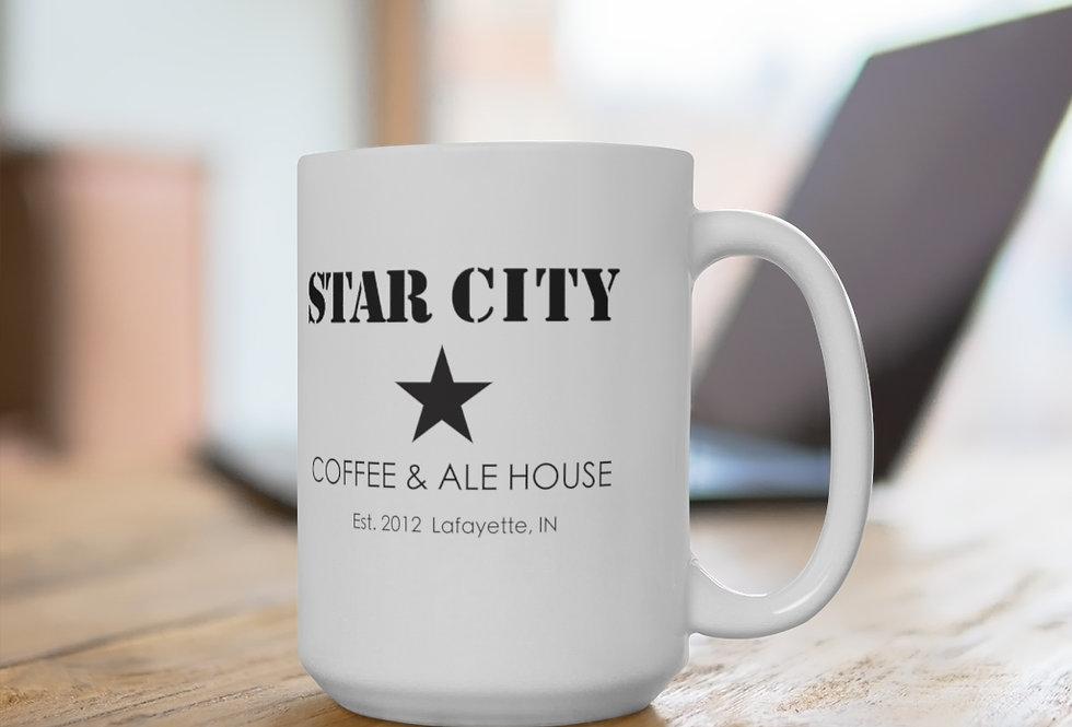 Star City White Two-Sided Mug 11 oz or 15 oz