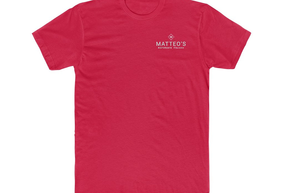 Matteo's Ristorante Italiano Men's Cotton Crew Tee