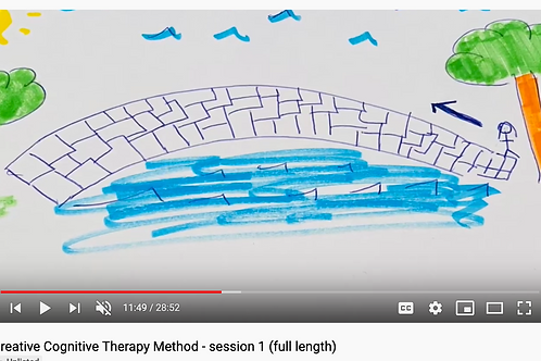 Creative Cognitive Therapy Method: Session 1 with Emily (full length)