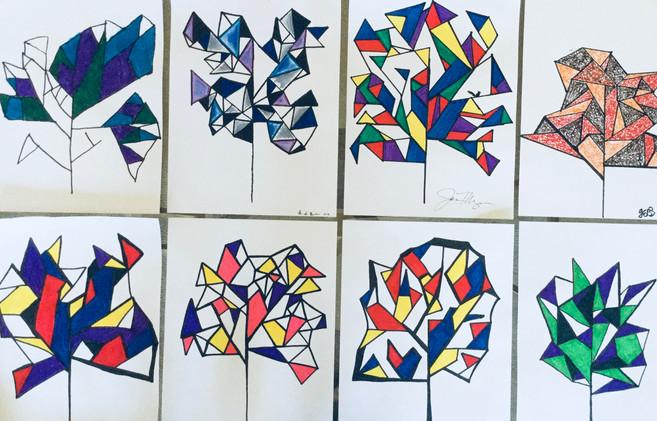 """""""Kandinsky Tree"""" Drawings"""