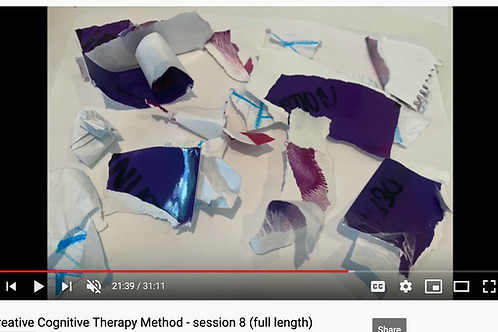 Creative Cognitive Therapy Method: Session 8 with Emily (full length)