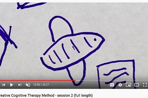 Creative Cognitive Therapy Method: Session 2 with Emily (full length)