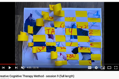 Creative Cognitive Therapy Method: Session 9 with Emily (full length)