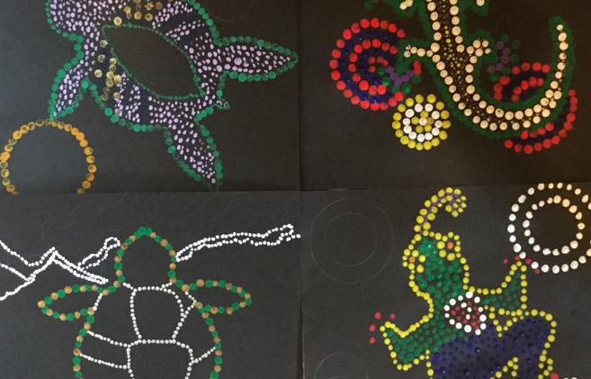 """""""Aboriginal"""" Paintings"""