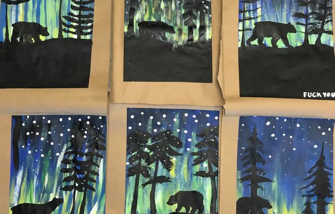 """""""Alaska"""" Paintings"""