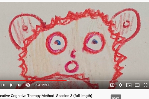 Creative Cognitive Therapy Method: Session 3 with Emily (full length)