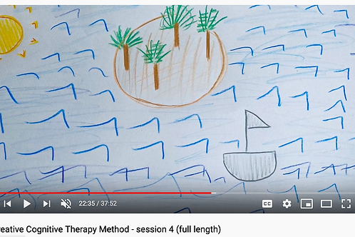 Creative Cognitive Therapy Method: Session 4 with Emily (full length)
