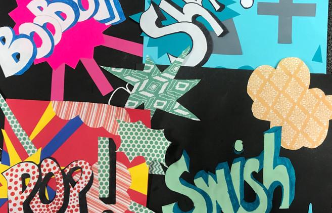 Pop Art Collages