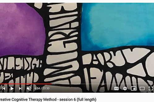 Creative Cognitive Therapy Method: Session 6 with Emily (full length)